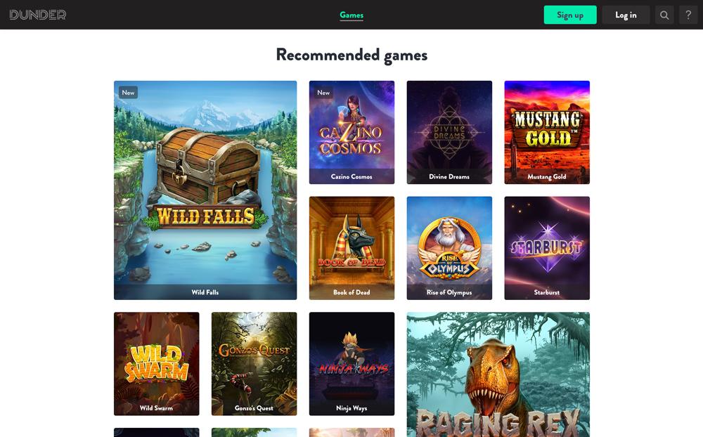 dunder-games