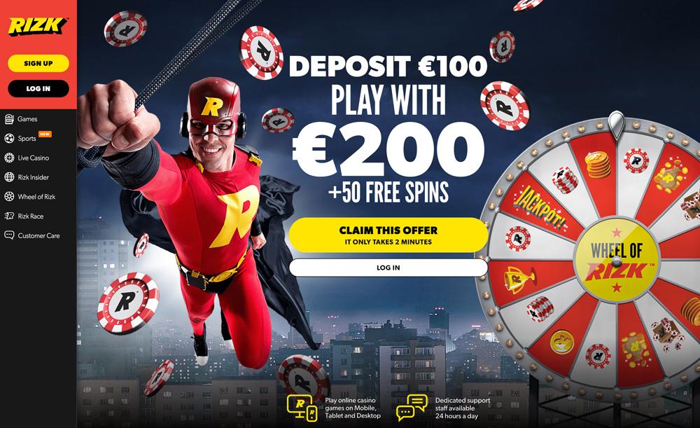 rizk-casino-frontpage